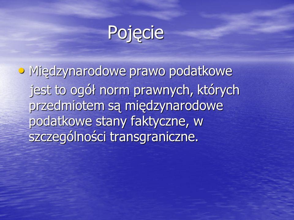 Podstawowe pojęcia związane z międzynarodowym podwójnym opodatkowaniem Osoba fizyczna, która: Osoba fizyczna, która: 1)posiada na terytorium Rzeczypospolitej Polskiej centrum interesów osobistych lub gospodarczych (ośrodek interesów życiowych) lub 1)posiada na terytorium Rzeczypospolitej Polskiej centrum interesów osobistych lub gospodarczych (ośrodek interesów życiowych) lub 2)przebywa na terytorium Rzeczypospolitej Polskiej dłużej niż 183 dni w roku podatkowym., 2)przebywa na terytorium Rzeczypospolitej Polskiej dłużej niż 183 dni w roku podatkowym., (art.3 ust.