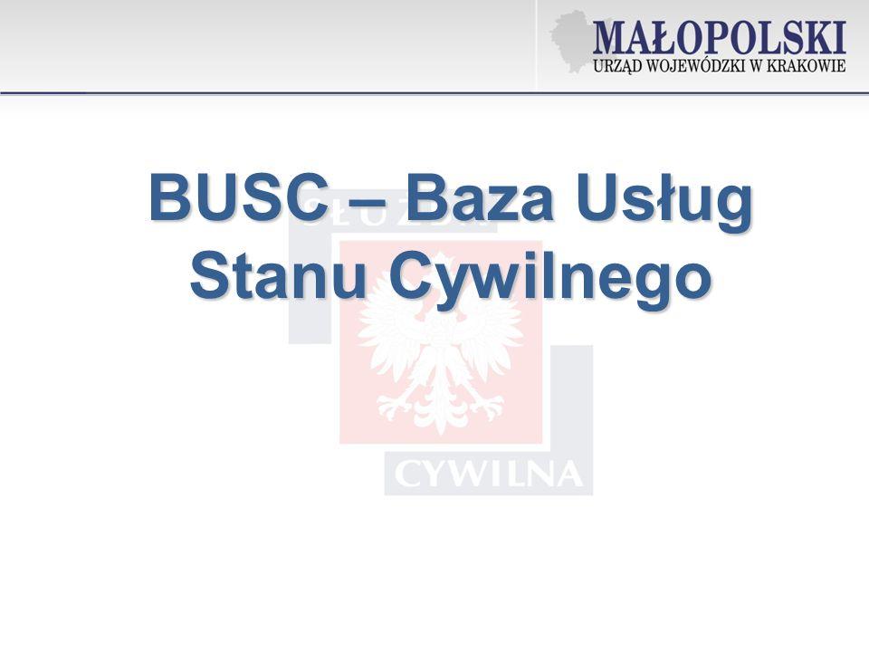 BUSC – Baza Usług Stanu Cywilnego