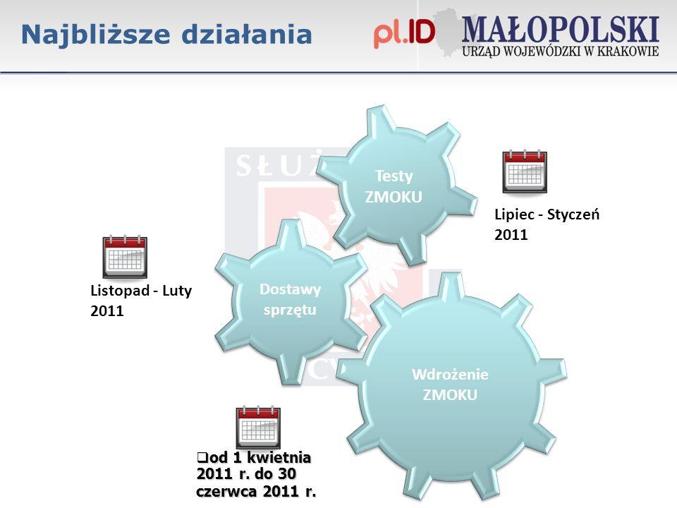 Lipiec - Styczeń 2011 od 1 kwietnia 2011 r.do 30 czerwca 2011 r.
