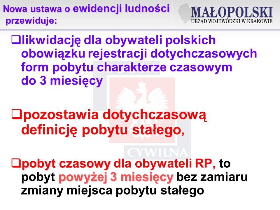Ustawa z dnia 24 września 2010 r.o ewidencji ludności Ustawa z dnia 24 września 2010 r.