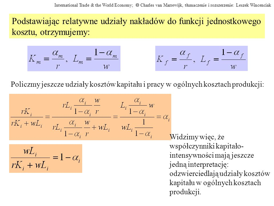 L K 1/r 1/w F = 1/p f C M = 1/p m B Efekt wzrostu płacy.