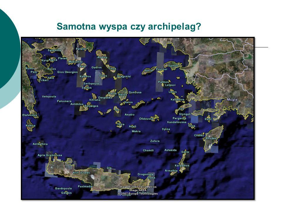 Samotna wyspa czy archipelag?