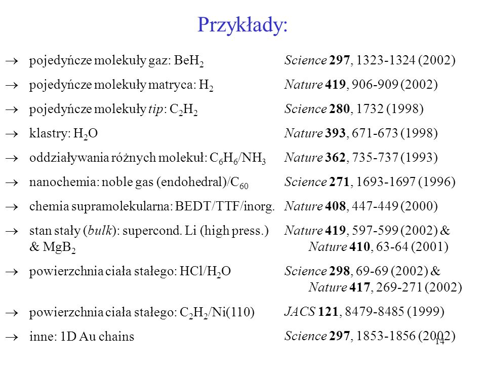 15 Struktura elektronowa, wibracyjna i rotacyjna molekuł – przypomnienie. H – H g u S0S0 T1T1
