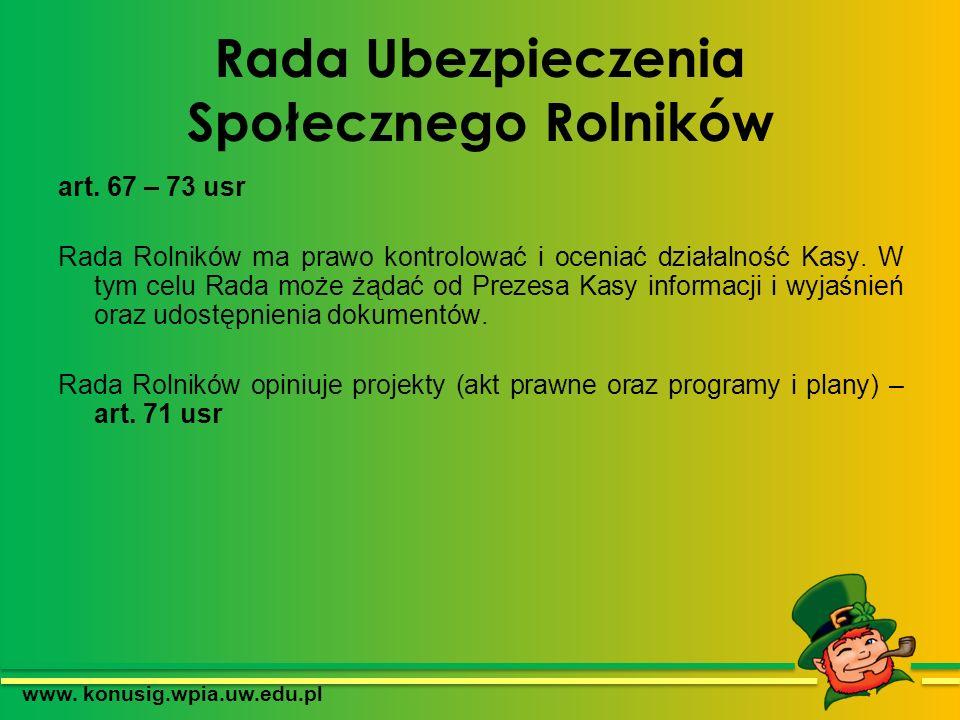 KRUS a ZUS Od 1 I 1999 r.ZUS posiada osobowość prawną.