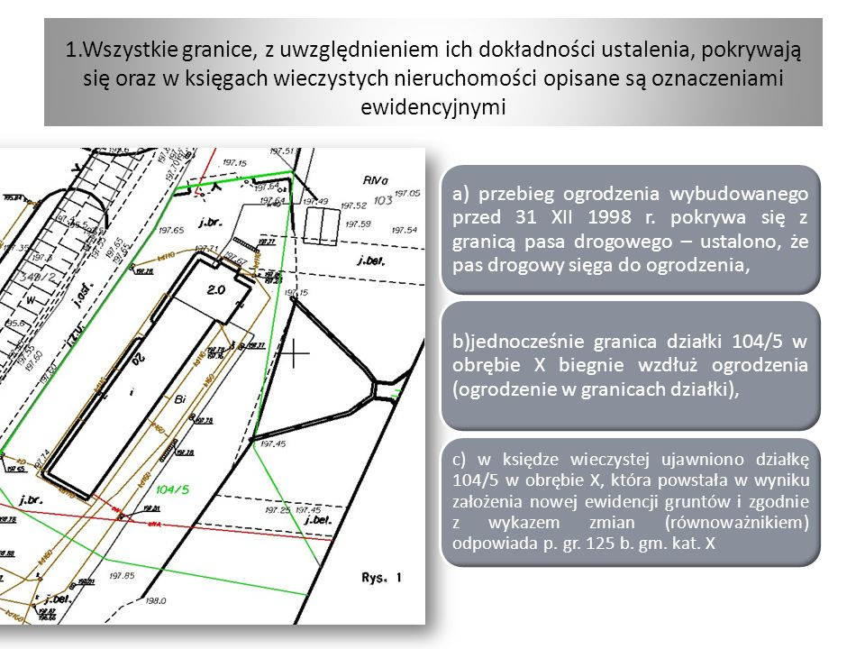 Dowód na władanie przez podmiot publiczny (zarządcę drogi) nieruchomością zajętą pod drogę publiczną 31 grudnia 1998 r.