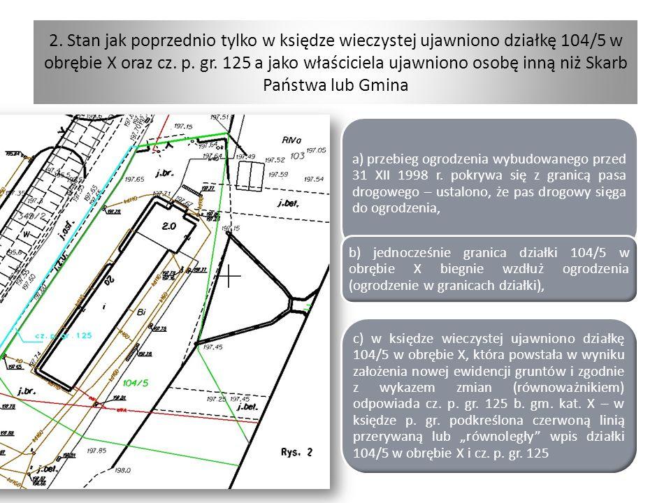 Próby rozwiązania problemów Zajętość - zwiększenia mocy dowodowej prac geodezyjnych wykonanych po 1998 r.