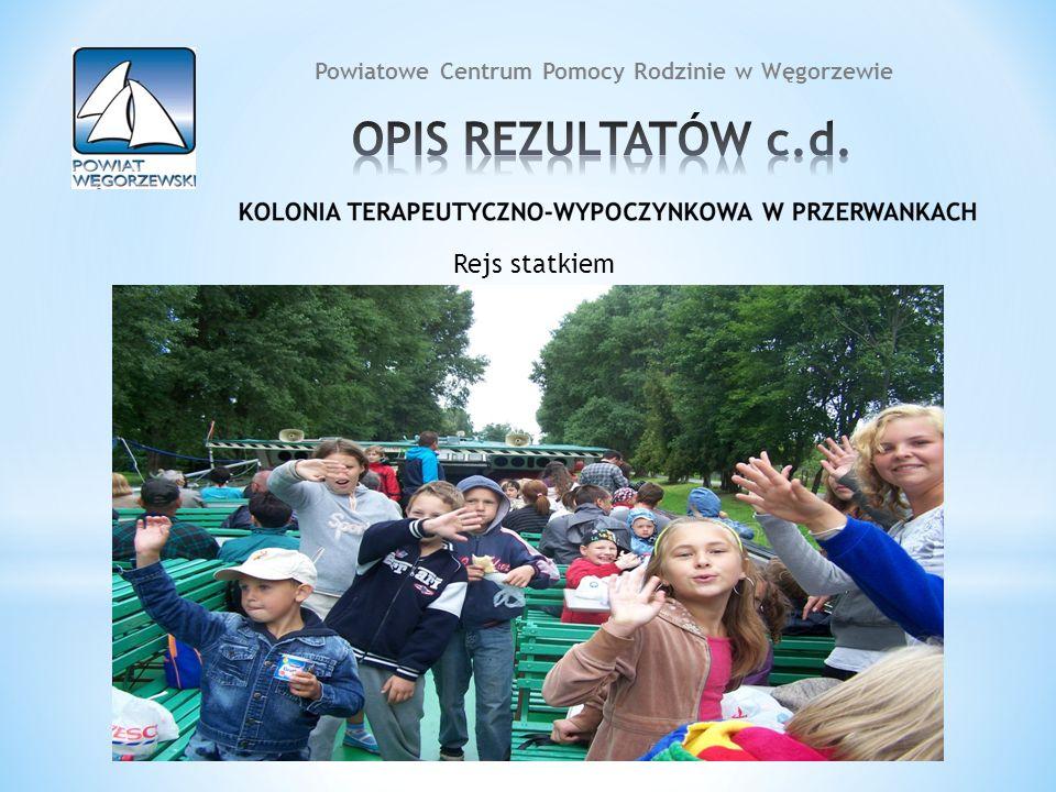 12 Rejs statkiem 12 Powiatowe Centrum Pomocy Rodzinie w Węgorzewie