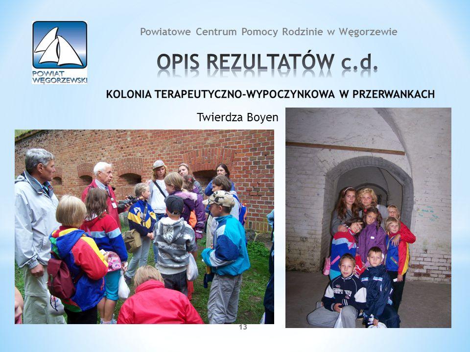 13 Twierdza Boyen 13 Powiatowe Centrum Pomocy Rodzinie w Węgorzewie