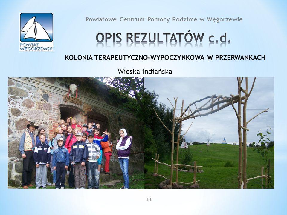 14 Wioska indiańska 14 Powiatowe Centrum Pomocy Rodzinie w Węgorzewie