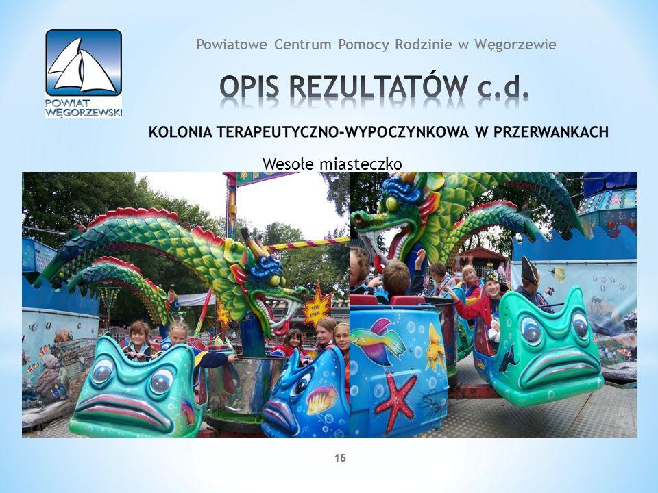 15 Wesołe miasteczko 15 Powiatowe Centrum Pomocy Rodzinie w Węgorzewie