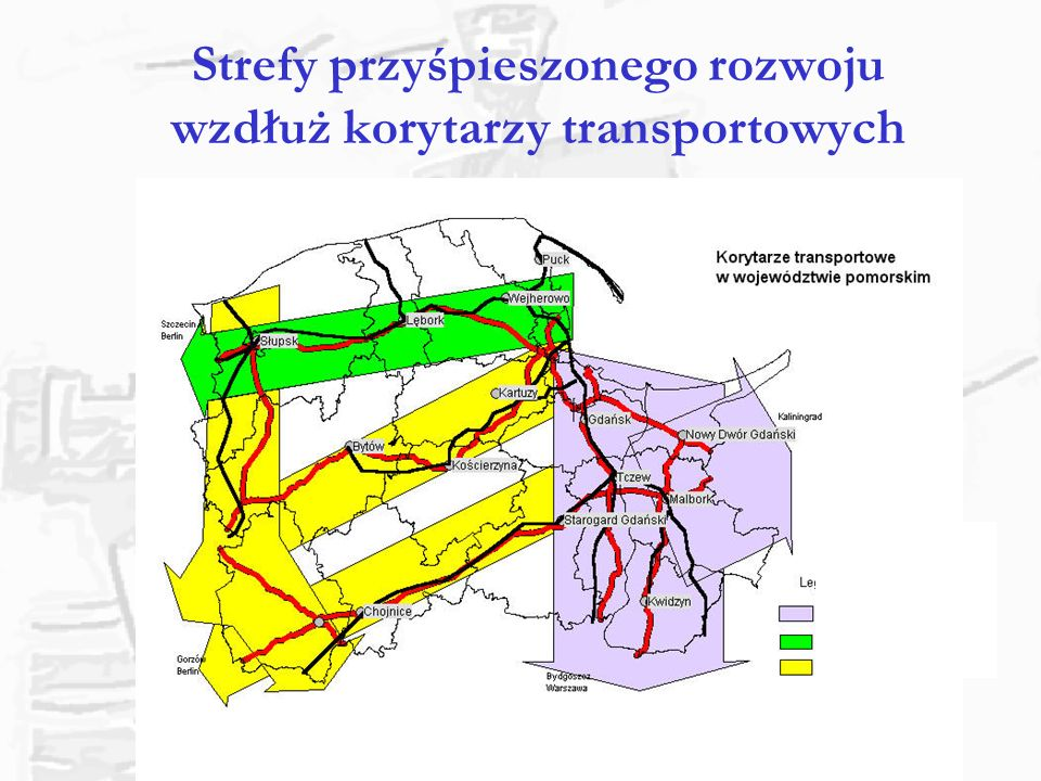 Przełamywanie luki transportowej Polski Północnej