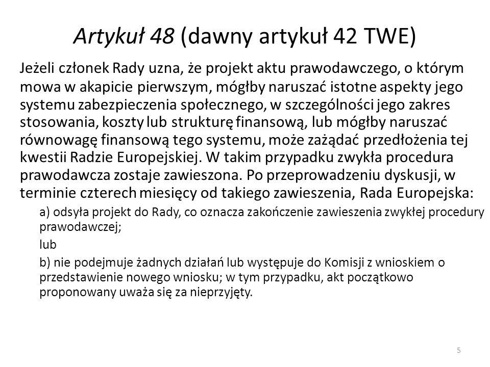 6 Rozporządzenie nr 883/2004 Rozporządzenie Parlamentu Europejskiego i Rady (WE) nr 883/2004 z dnia 29 kwietnia 2004 r.