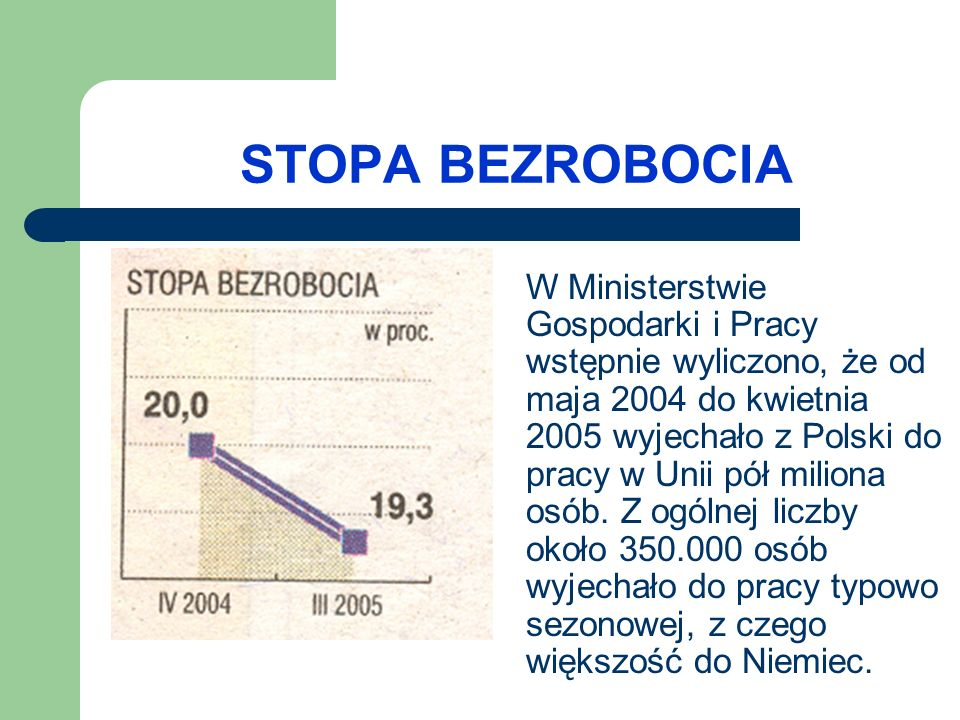 INFLACJA Inflacja - to wzrost ogólnego poziomu cen w gospodarce.