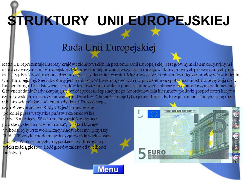 Rada UE reprezentuje interesy krajów członkowskich na poziomie Unii Europejskiej. Jest głównym ciałem decyzyjnym i ustawodawczym Unii Europejskiej. Ma