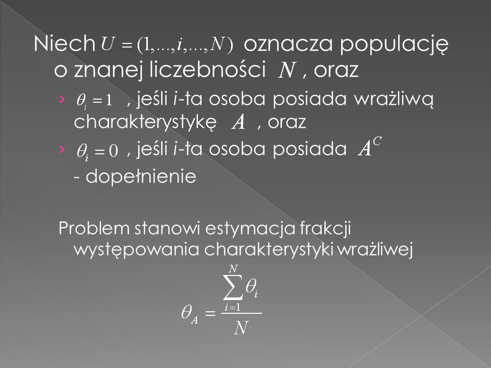 Zastosowanie Metody Zliczania Odpowiedzi wymaga stworzenia dwóch list z pytaniami, na których znajduje się G takich samych pytań niewrażliwych.