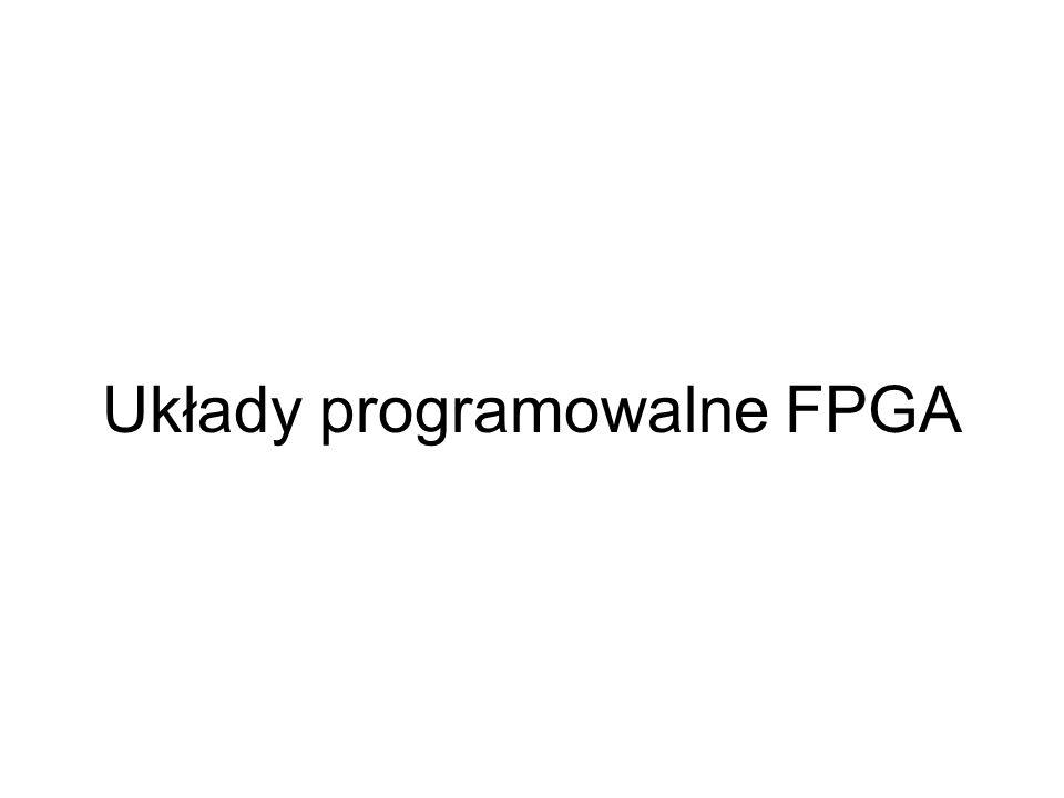 Układy programowalne FPGA