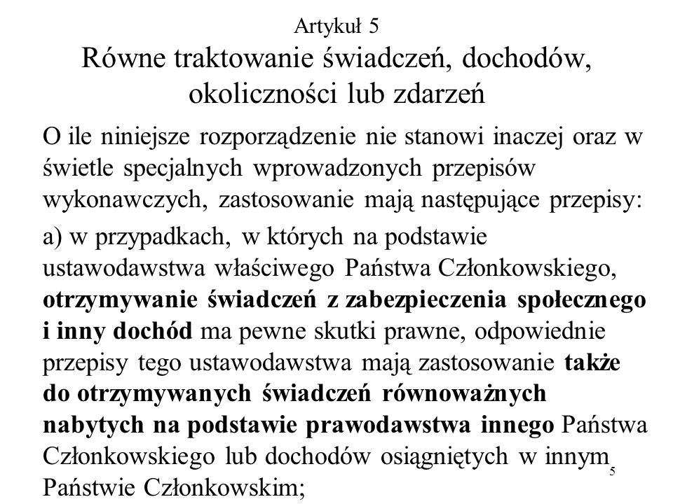 66 SytuacjaInstytucja finansują ca świadcze- nia Ustawodawstw o, według którego udzielane są świadczenia 1.Obywatel polski zamieszkały w Polsce został oddelegowany przez swojego polskiego pracodawcę do pracy w spółce-matce w Budapeszcie na pół roku.