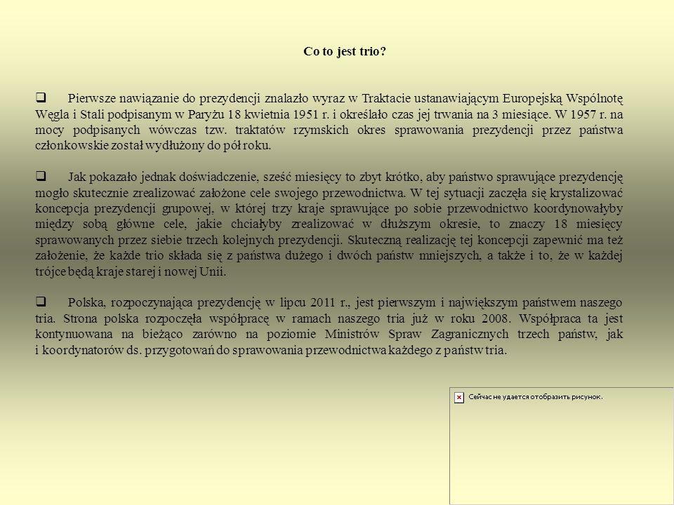 Rozwiązanie: Odpowiedź: W logo polskiego przewodnictwa umieszczono 6 strzałek.