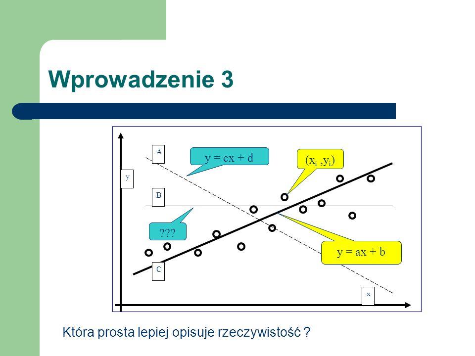 Metoda najmniejszych kwadratów 1