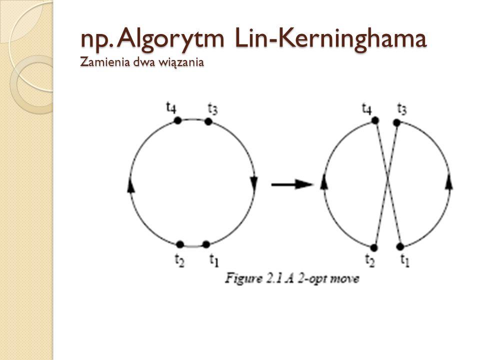 np. Algorytm Lin-Kerninghama Zamienia dwa wiązania