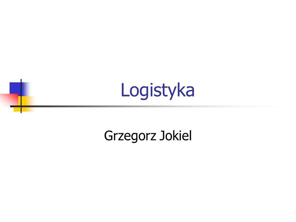 Logistyka Grzegorz Jokiel