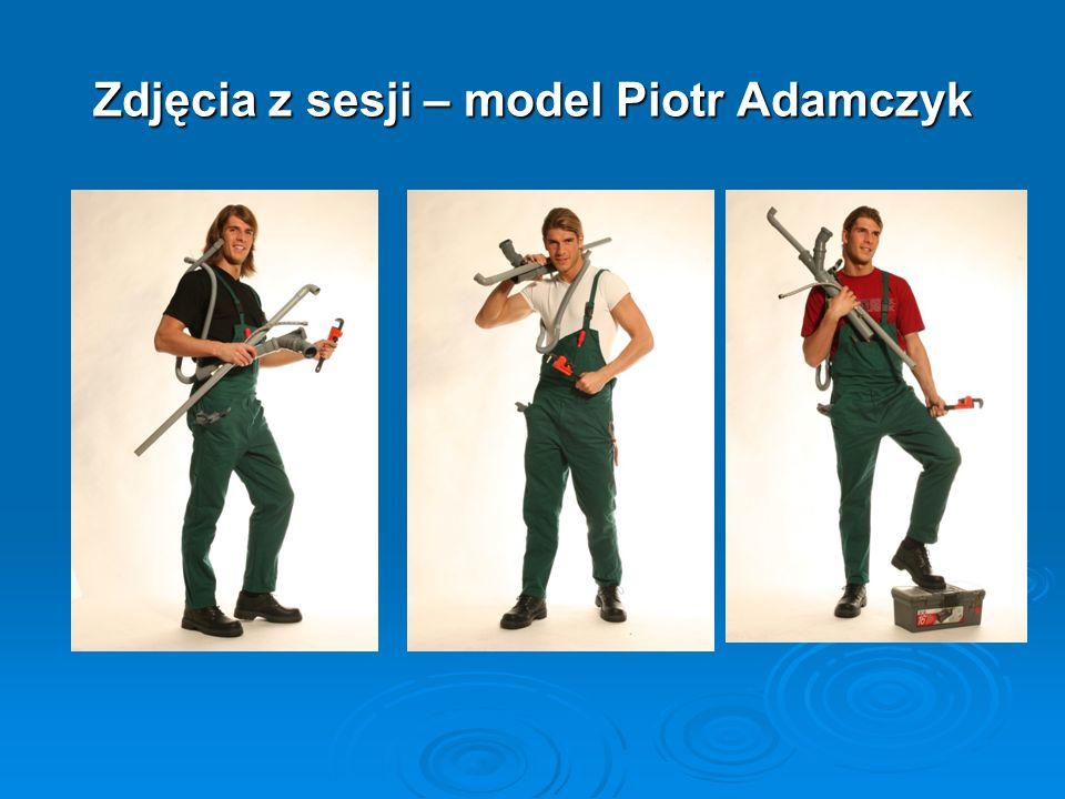 Zdjęcia z sesji – model Piotr Adamczyk