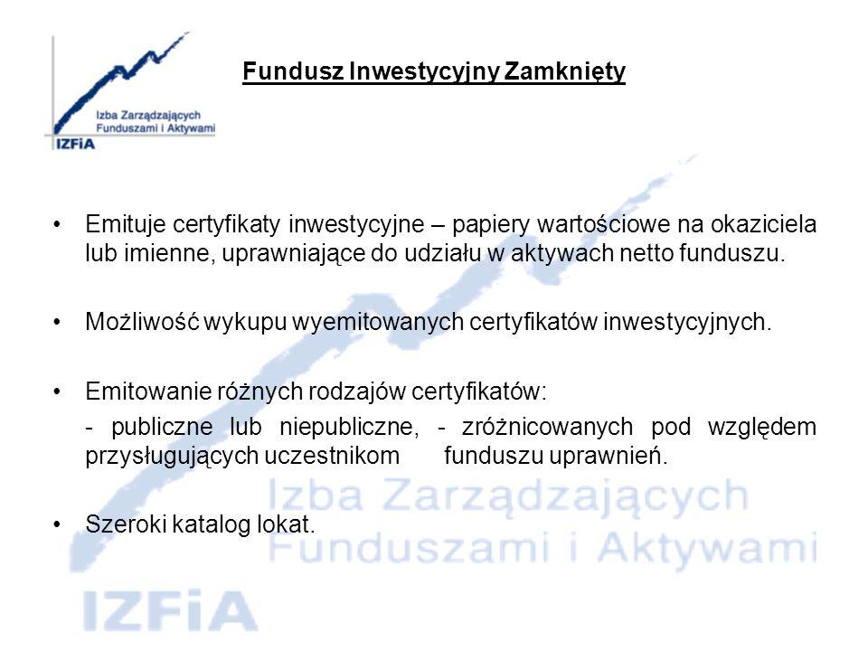 Nowe produkty (typy i konstrukcje funduszy)
