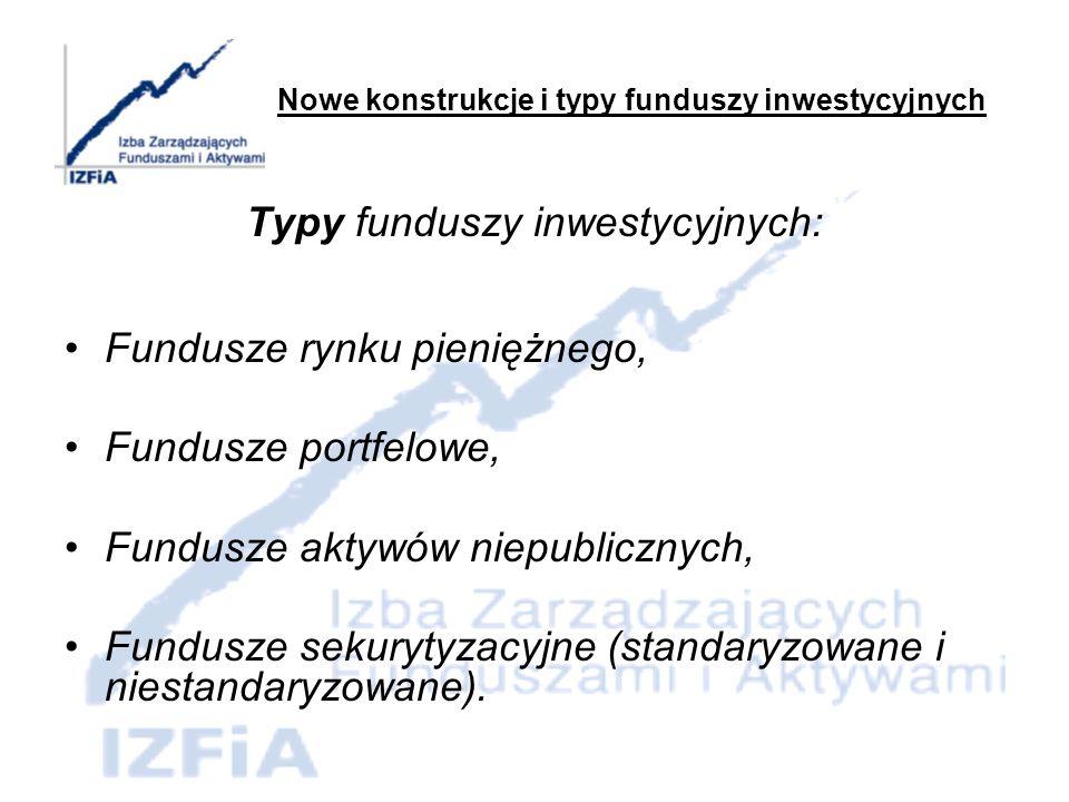Fundusze rynku pieniężnego 100% aktywów Funduszu w: instrumenty rynku pieniężnego oraz depozyty bankowe.