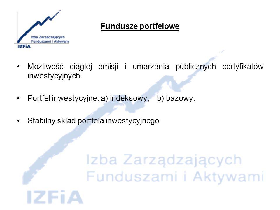 Fundusze aktywów niepublicznych Fundusz lokuje aktywa w akcje i udziały w spółkach niepublicznych.