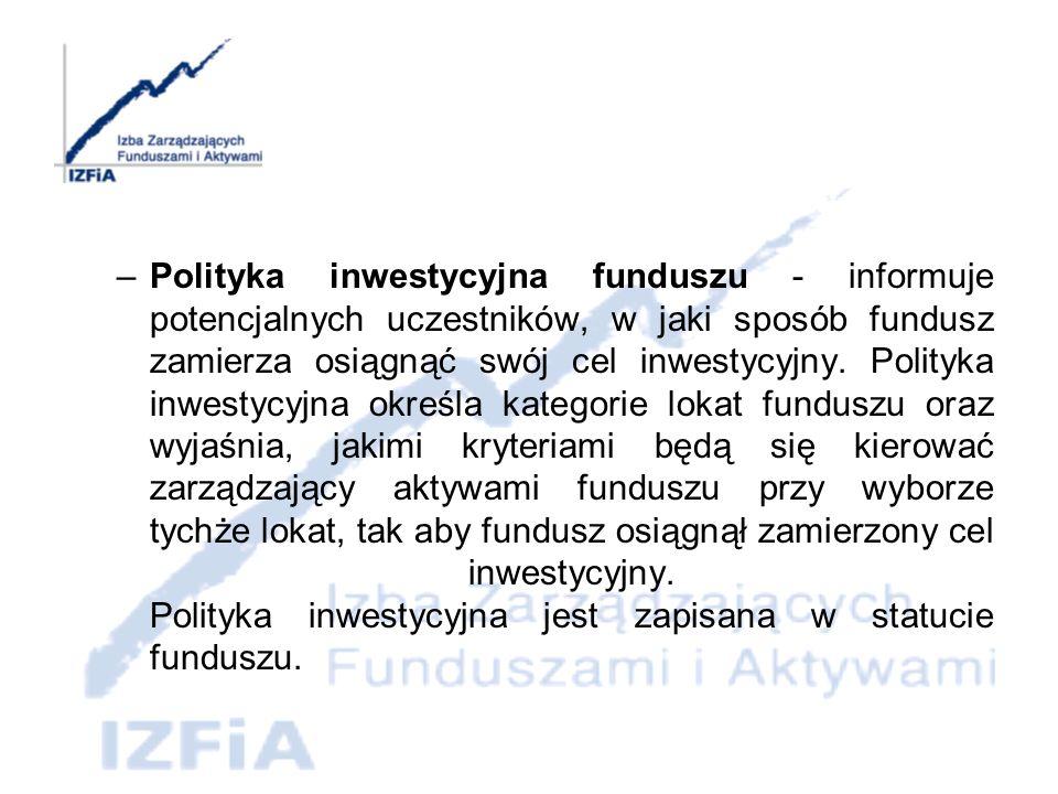 dr Marcin Dyl Prezes Zarządu Rynek funduszy inwestycyjnych w Polsce: –Zasady inwestowania –Zalety i wady inwestowania w fundusze –Rozwój rynku funduszy inwestycyjnych –Obecna sytuacja i perspektywy rozwoju polskiego rynku funduszy inwestycyjnych