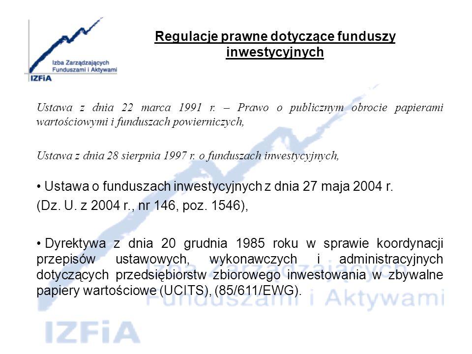 Konstrukcja prawna funduszu i jej konsekwencje