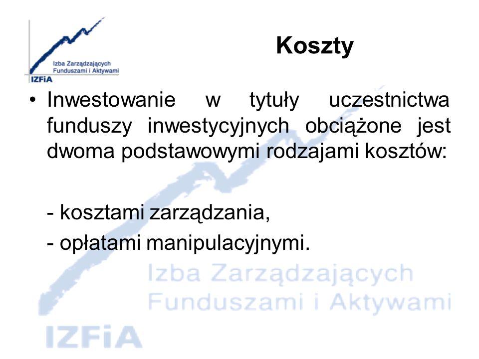 Rozwój rynku funduszy inwestycyjnych Obecna sytuacja i perspektywy dalszego rozwoju polskiego rynku funduszy inwestycyjnych