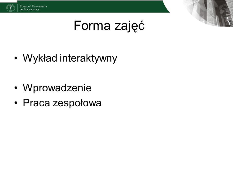 Zakres przedmiotu Zrozumienie procesu zarządzania projektem –Instytut Zarządzania Projektem –Co to jest projekt.