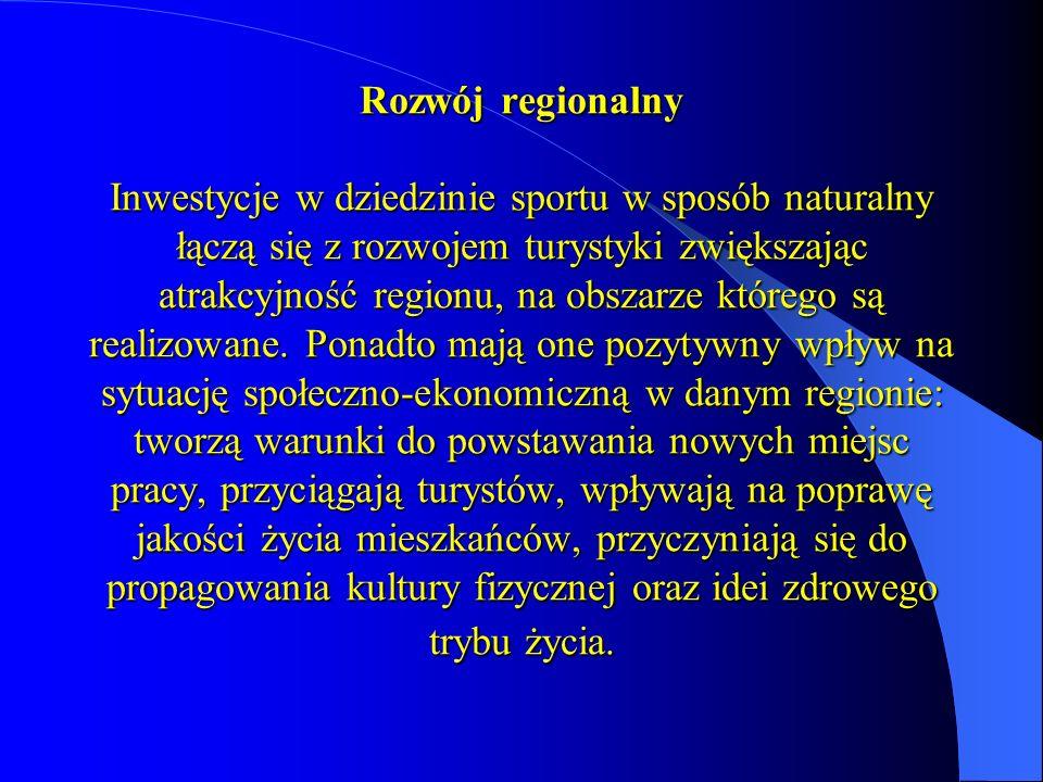 Rozbudowa Kompleksu Sportowo – Rehabilitacyjnego przy Centrum Spotkań Polsko – Niemieckich w Górzycy