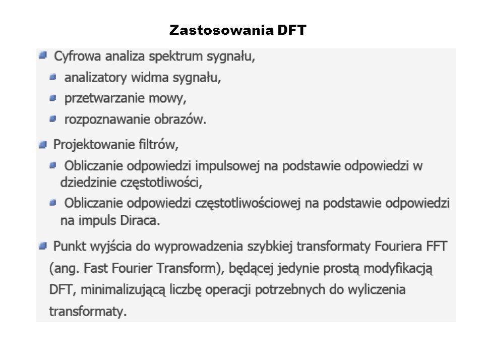 Zastosowania DFT