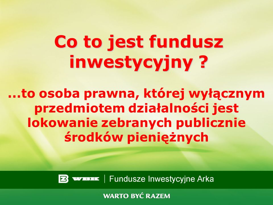 18 Fundusze inwestycyjne łatwy sposób na wysokie zyski...