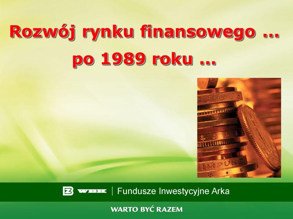 1 Fundusze inwestycyjne ARKA oraz Asset Managment Wysoka jakość zarządzania