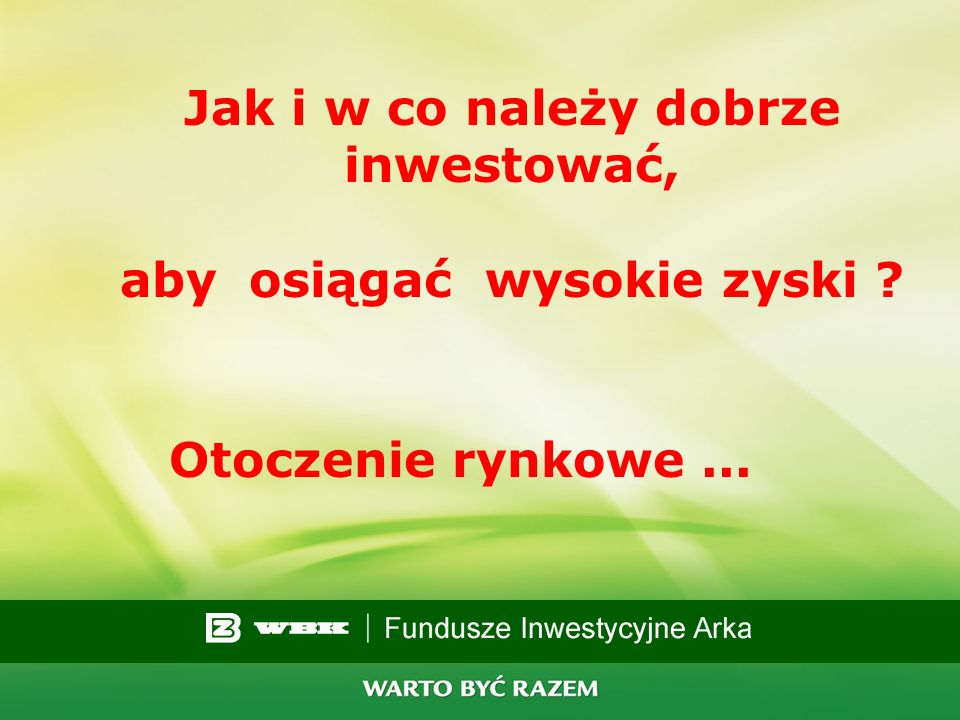 7 Aktywa funduszy inwestycyjnych w mln PLN Źródło: KPWiG Obecnie 117,3 mld zł na 03.2007