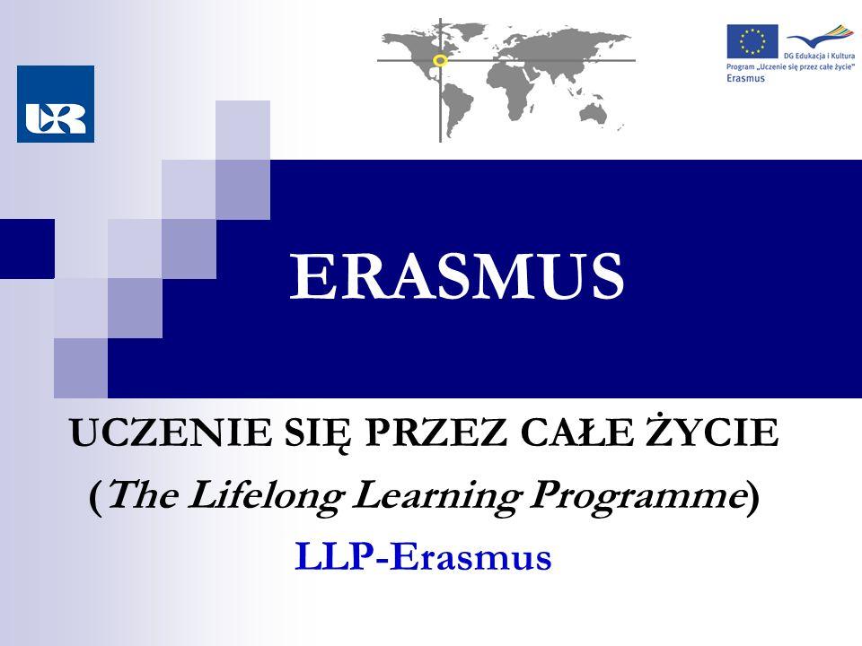 ERASMUS UCZENIE SIĘ PRZEZ CAŁE ŻYCIE (The Lifelong Learning Programme) LLP-Erasmus