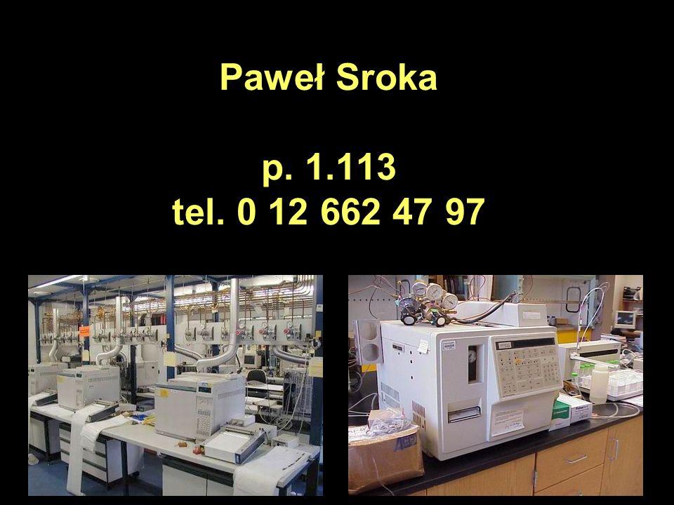 Paweł Sroka p. 1.113 tel. 0 12 662 47 97