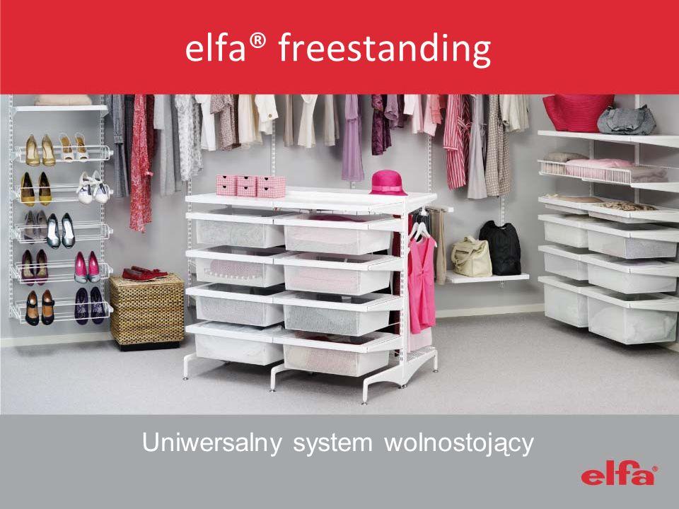 elfa® freestanding Uniwersalny system wolnostojący