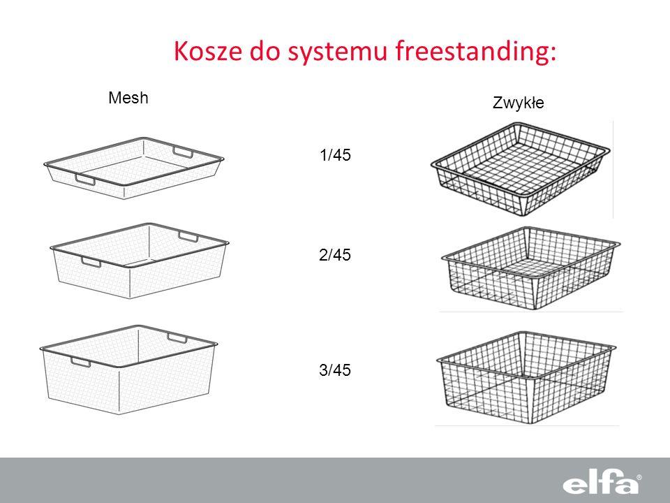 Kosze do systemu freestanding: Mesh Zwykłe 1/45 2/45 3/45