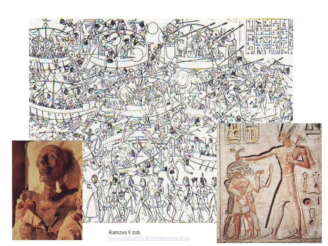 Ramzes II zob. www.egipt.amra.pl/amrakadesz.phpwww.egipt.amra.pl/amrakadesz.php,