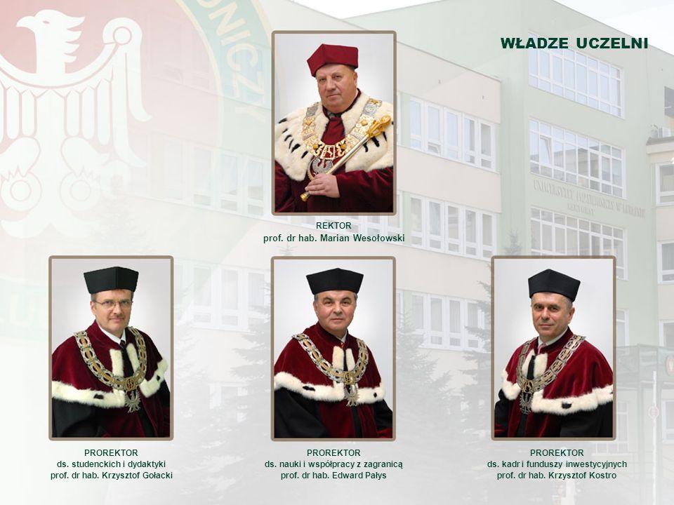 OD REKTORA Uniwersytet Przyrodniczy w Lublinie jest wieloprofilową uczelnią, w której integrują się nauki rolnicze, biologiczne, weterynaryjne, techniczne i ekonomiczno-społeczne.