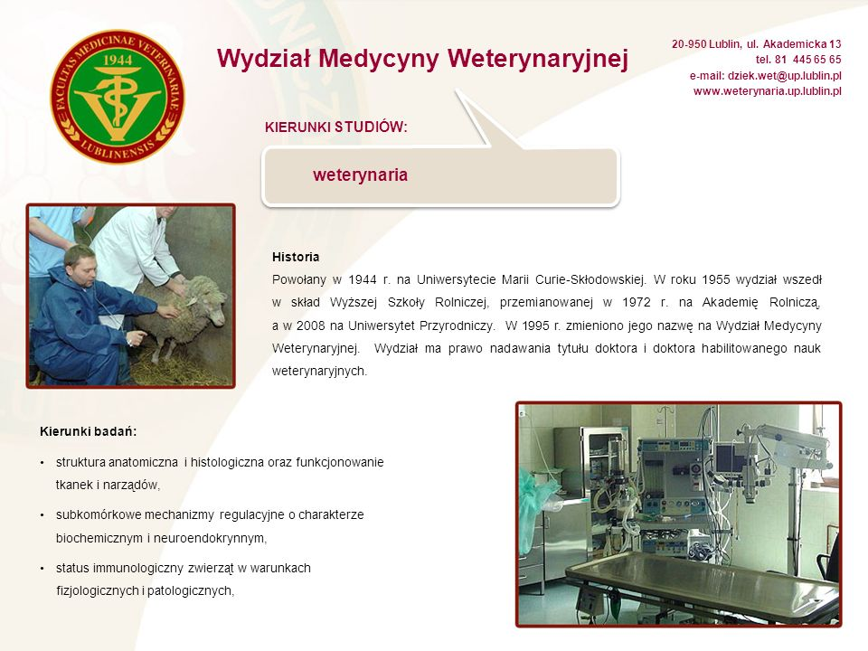 RADA UCZELNIANA SAMORZĄDU STUDENCKIEGO www.russ.up.lublin.pl e-mail: russ@up.lublin.pl 20-950 Lublin, ul.