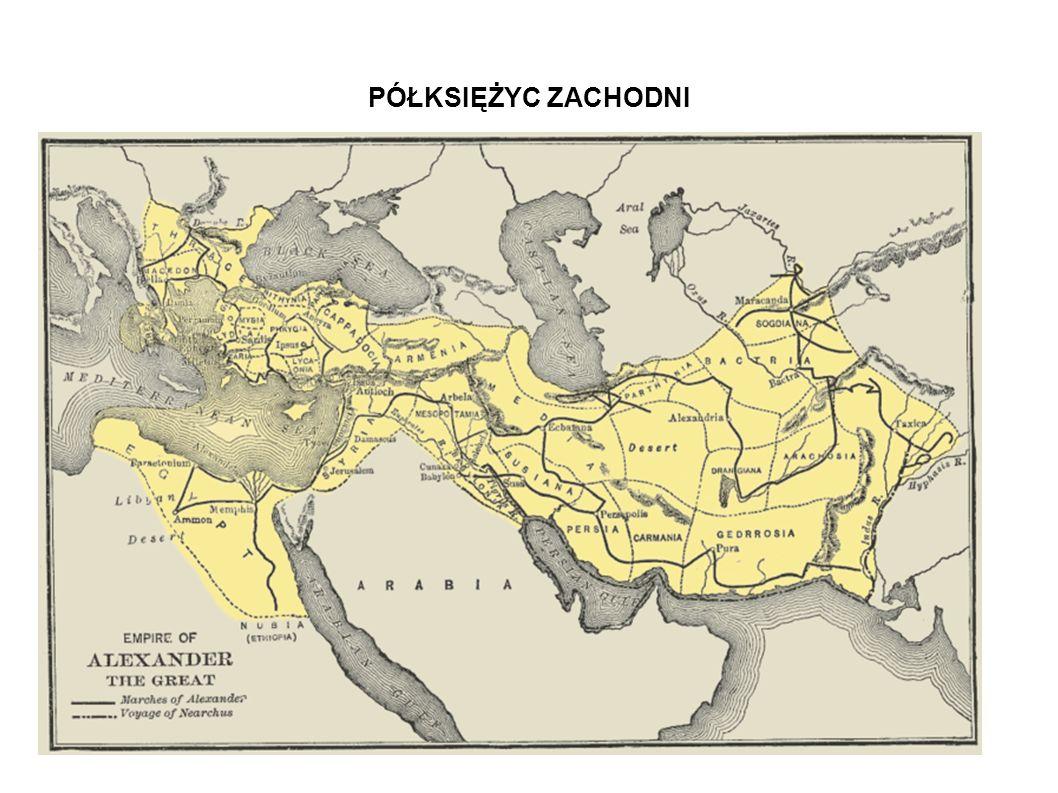 Po podboju Palestyny przez Aleksandra Wielkiego w 332r.