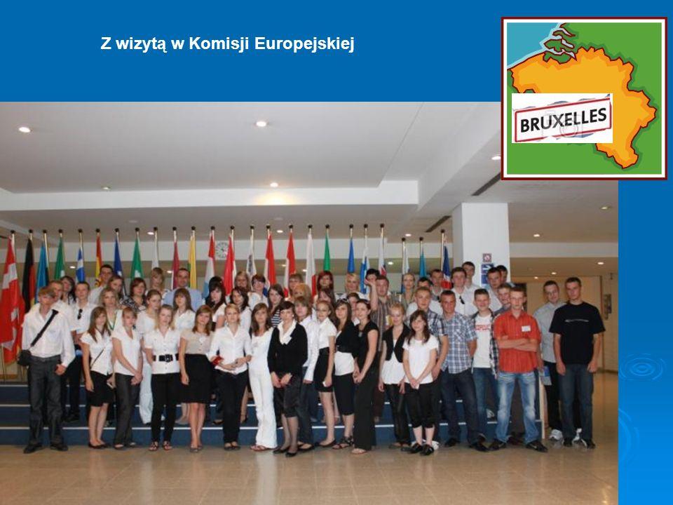 Z wizytą w Komisji Europejskiej