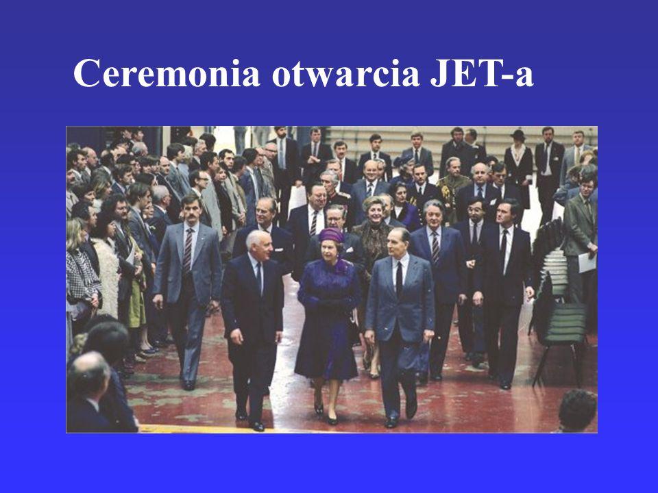 Ceremonia otwarcia JET-a