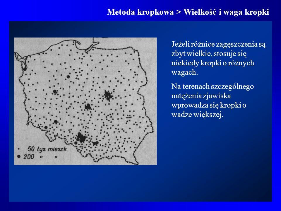 Metoda izolinii > Rodzaje izolinii > Izolinie odległości Ekwidystanty od stolicy Polski oraz od granicy polsko- ukraińskiej
