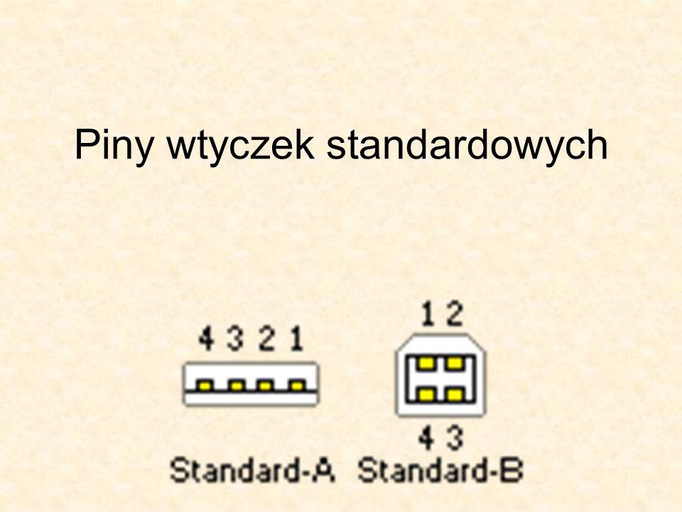 FireWire kontra USB Standard FireWire nie jest tak popularny jak USB, mimo większych możliwości.